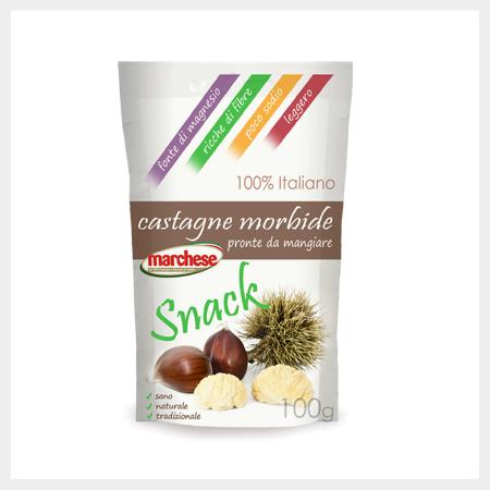 Al via la nuova produzione di castagne surgelate e castagne snack M.G.M.