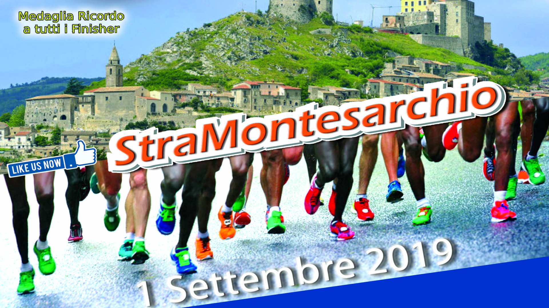 Marchese Castagne Sponsor della gara podistica StraMontesarchio