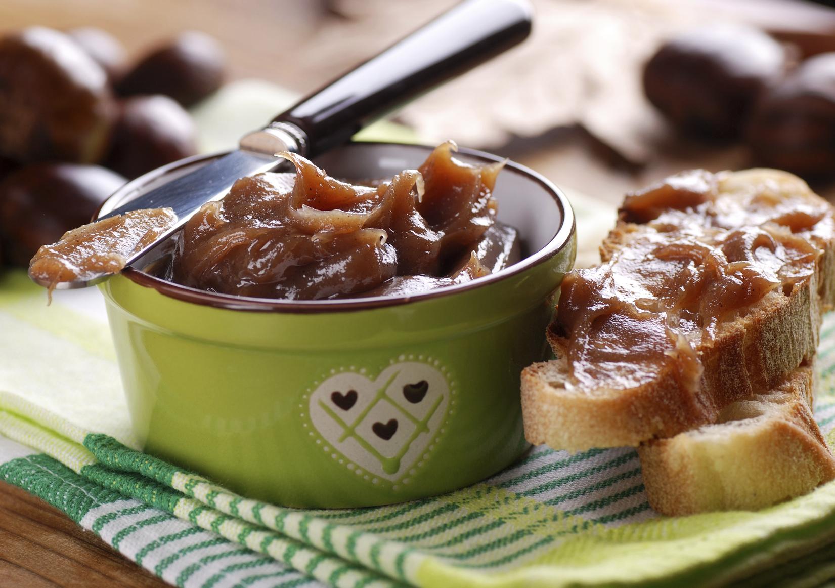 Marmellata di castagne: la ricetta fatta in casa