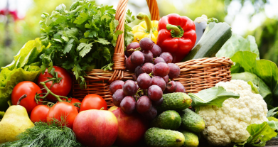 Frutta e verdura: ogni giorno 5 porzioni e 5 colori